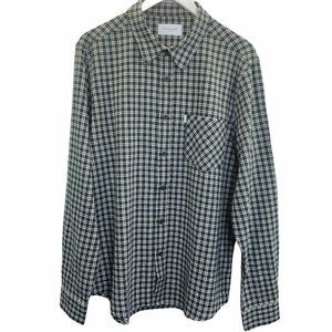 Ovadia & Sons New York Max Plaid Long Sleeve Butto